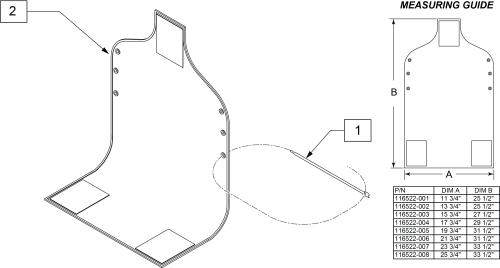 Vanity Flap parts diagram