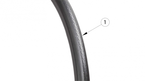 Spark Full Poly Tire parts diagram