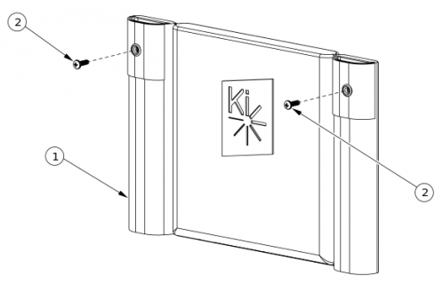 Liberty Ft Standard Back Upholstery parts diagram