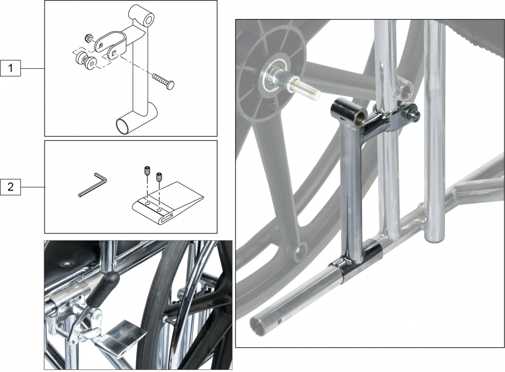 Amputee Axle Plate (2000hd) parts diagram