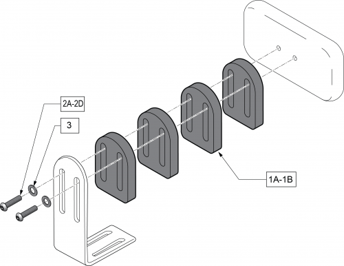 Bracket Spacer parts diagram