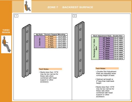 Cs-07-back Step 6 Select Adjustment Rails parts diagram