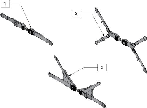 Anterior Pelvic Belts parts diagram