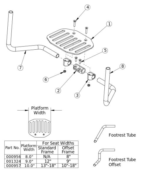 Clik Angle Adjustable Flip Under parts diagram
