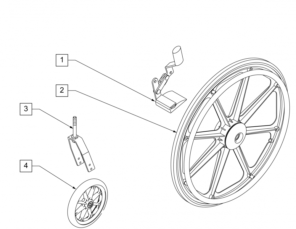 Super Hemi Kit (4000) parts diagram