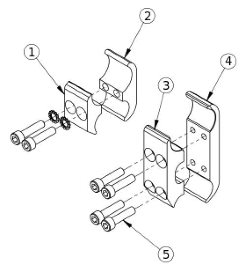 Catalyst Wheel Lock Clamps parts diagram
