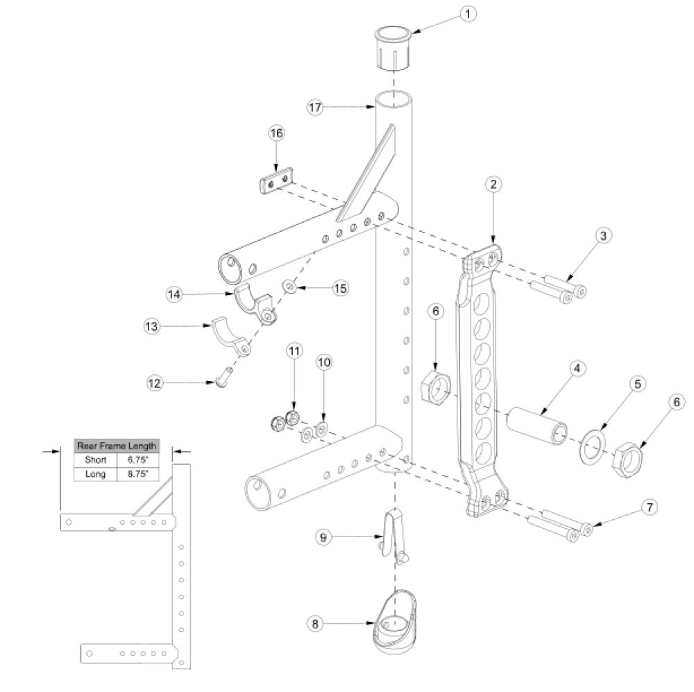 Canada / Aadl Adjustable Axle Plate parts diagram