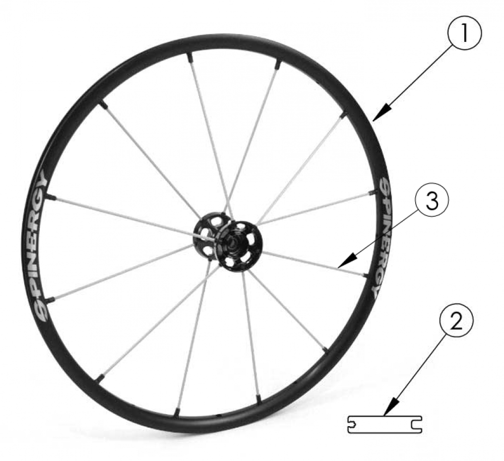 Rogue Xp Spinergy Lx Wheel parts diagram