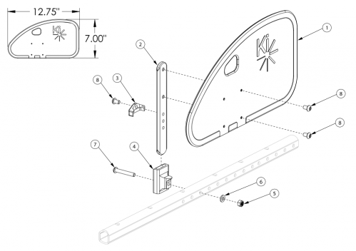 Liberty Ft Side Guard parts diagram