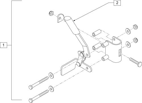 Wheel Lock (steel Transport) parts diagram