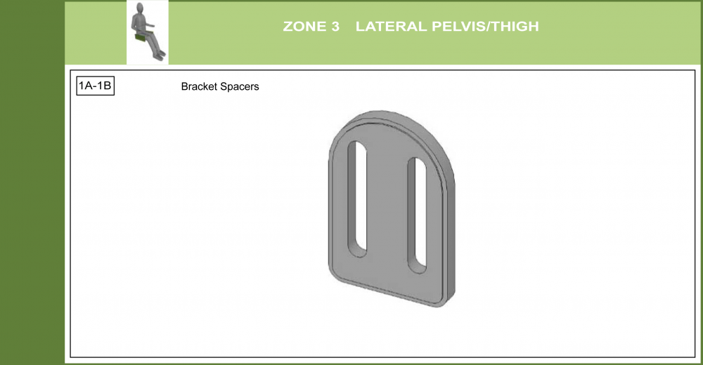 Cs-03 Lateral Pelvic Support Bracket Modifications parts diagram