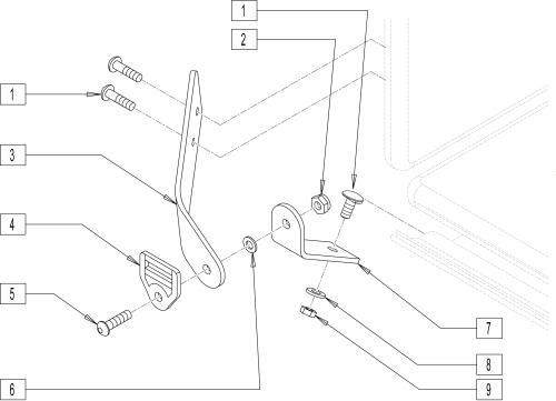 Hinge Mechanism parts diagram