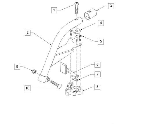 60 Swing Away Hemi Hanger (breezy) parts diagram