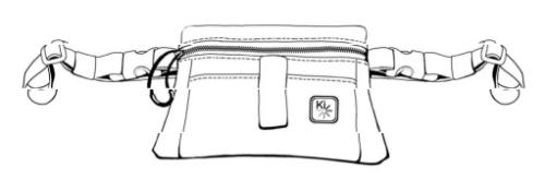 Removable Underseat Pouch parts diagram