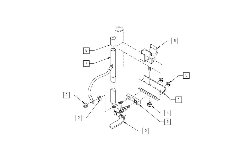 Breezy Wheel Lock Push To Lock parts diagram
