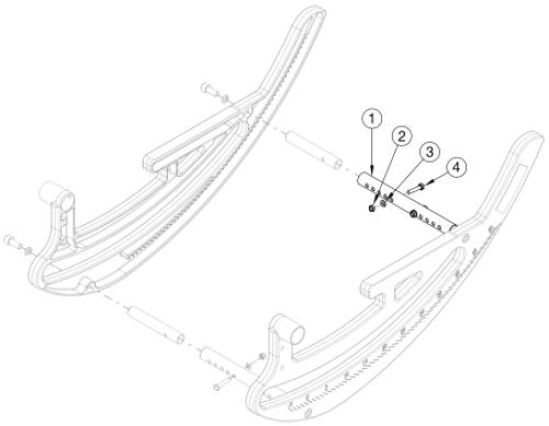 Focus Cr Rotary Frame - Growth parts diagram