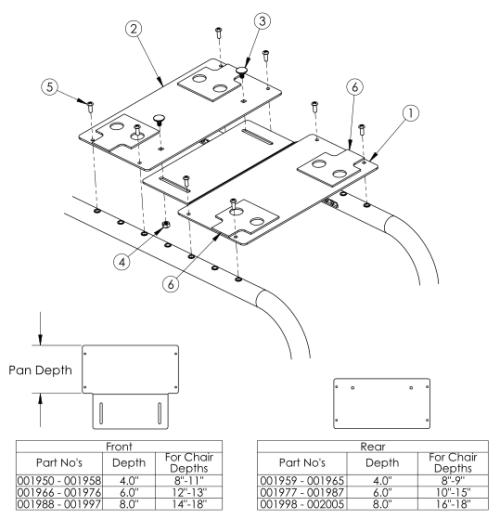Clik Growing Solid Seat Pan parts diagram