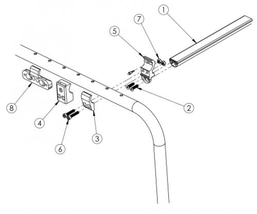 Clik Crosstube parts diagram