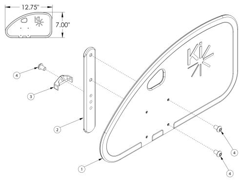 Removable Adult Composite Side Guard parts diagram