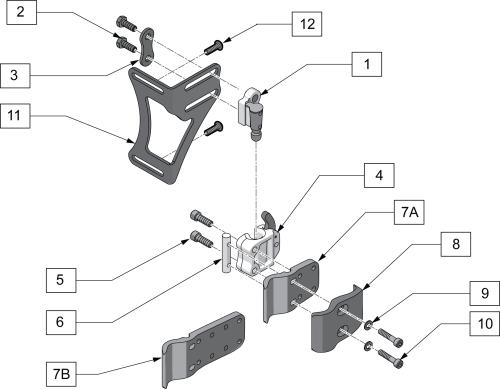 J3 Mounting Hardware parts diagram
