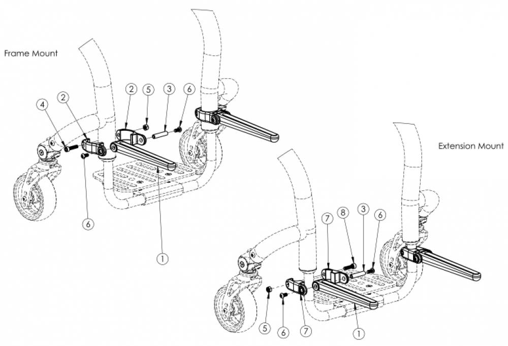 Rogue Luggage Carrier parts diagram