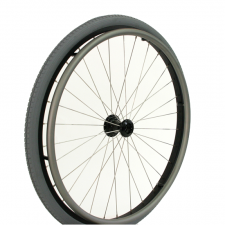 "Quickie 24"" Lite-Spoke Wheel Complete"