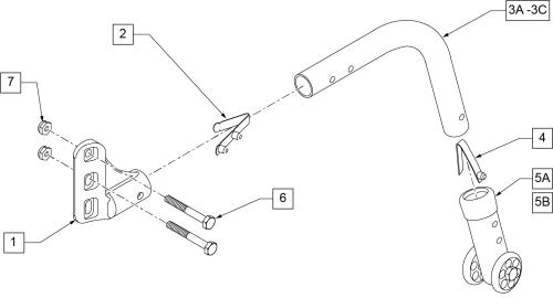 Anti-tip parts diagram