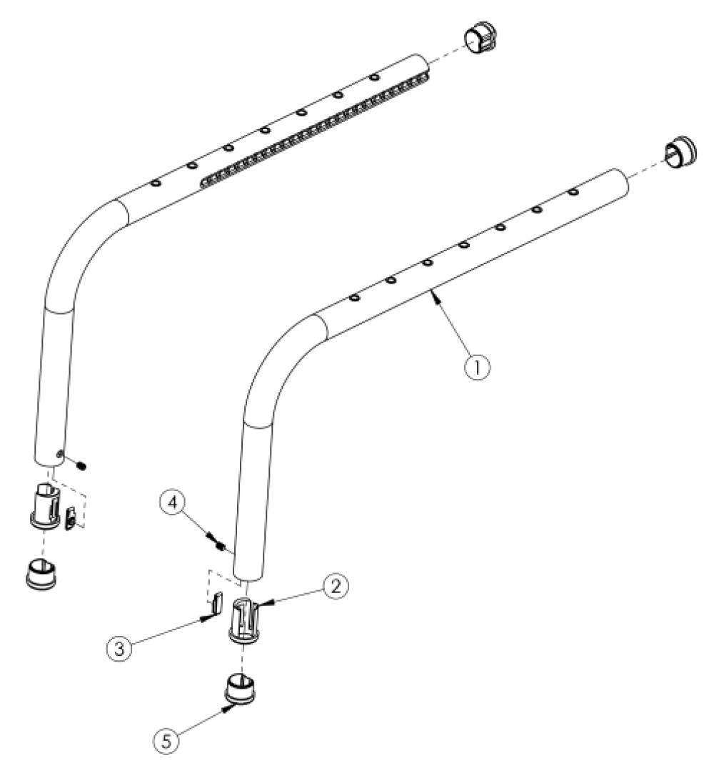 Clik Side Frame parts diagram