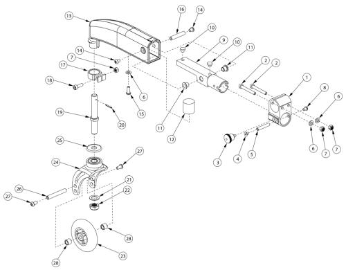Dynamic 5th Wheel parts diagram