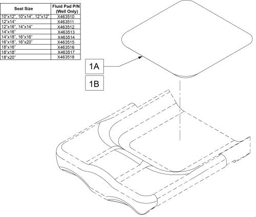 Jay Fit Fluid Pads parts diagram