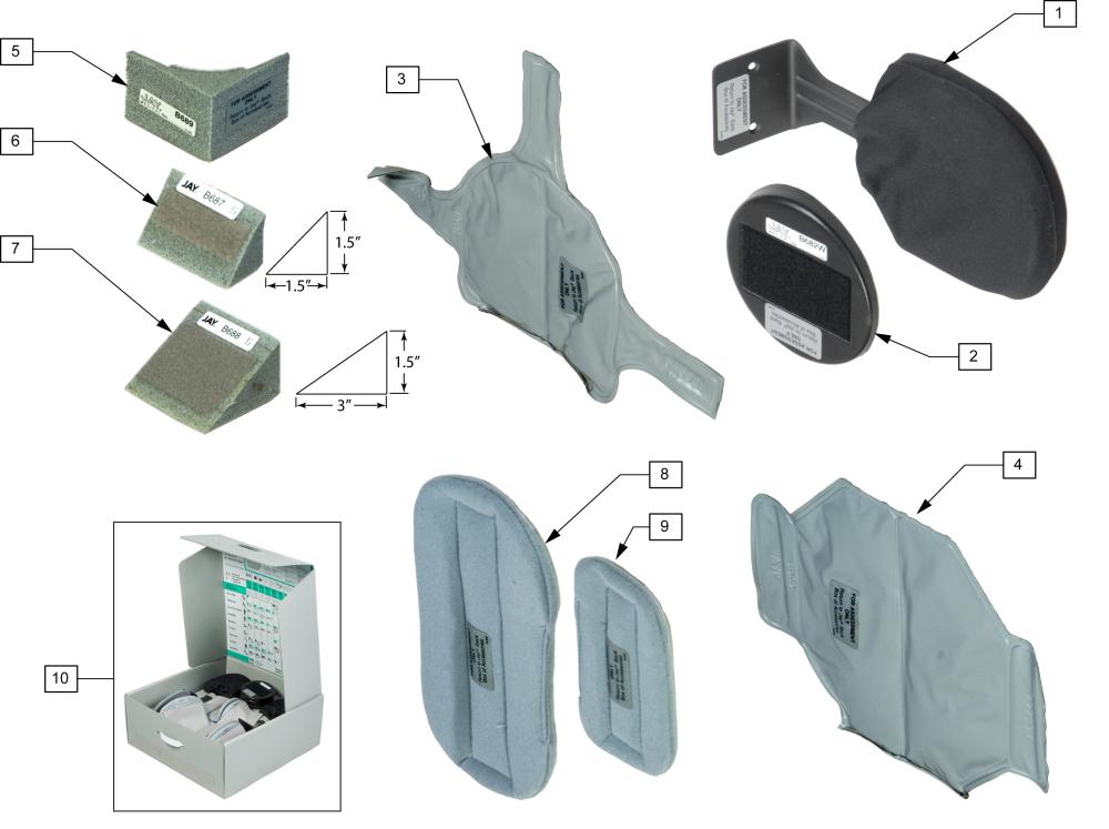 Jay Modular Back Box parts diagram