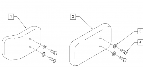 Lateral Pads parts diagram