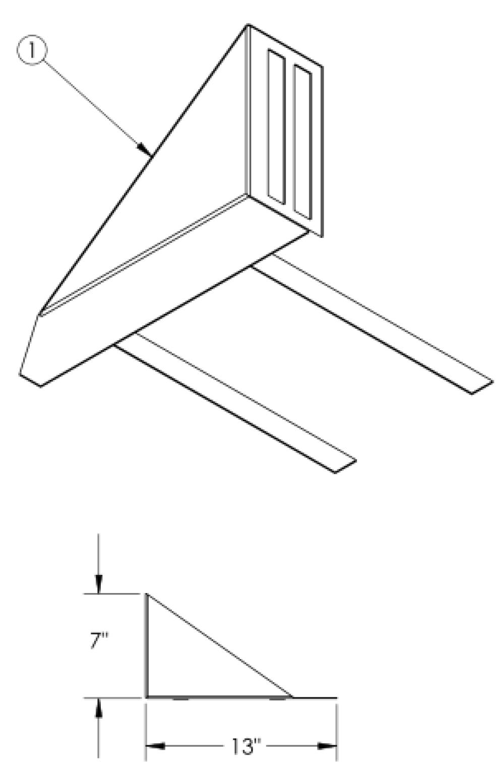 Rigid Fabric Side Guard parts diagram
