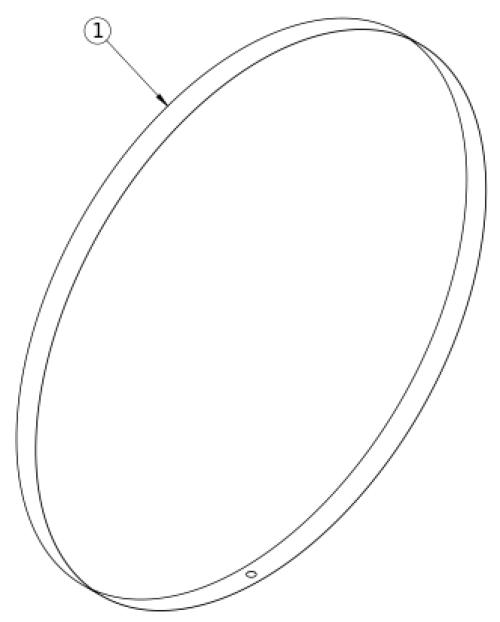 Rogue Xp Rim Strip parts diagram