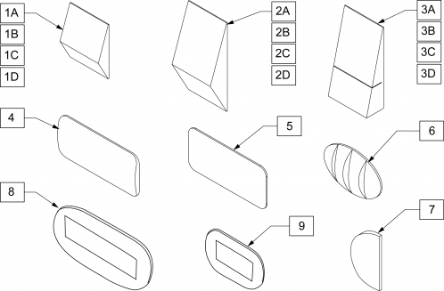 J3 Positioning Components parts diagram