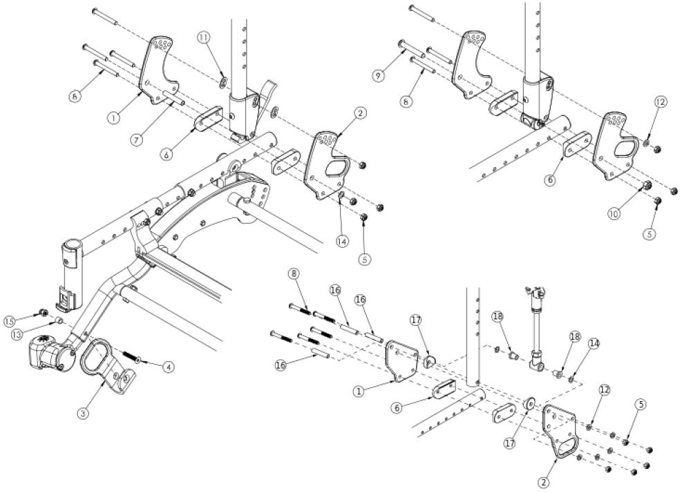 Flip Transit parts diagram
