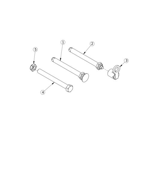 Axles parts diagram