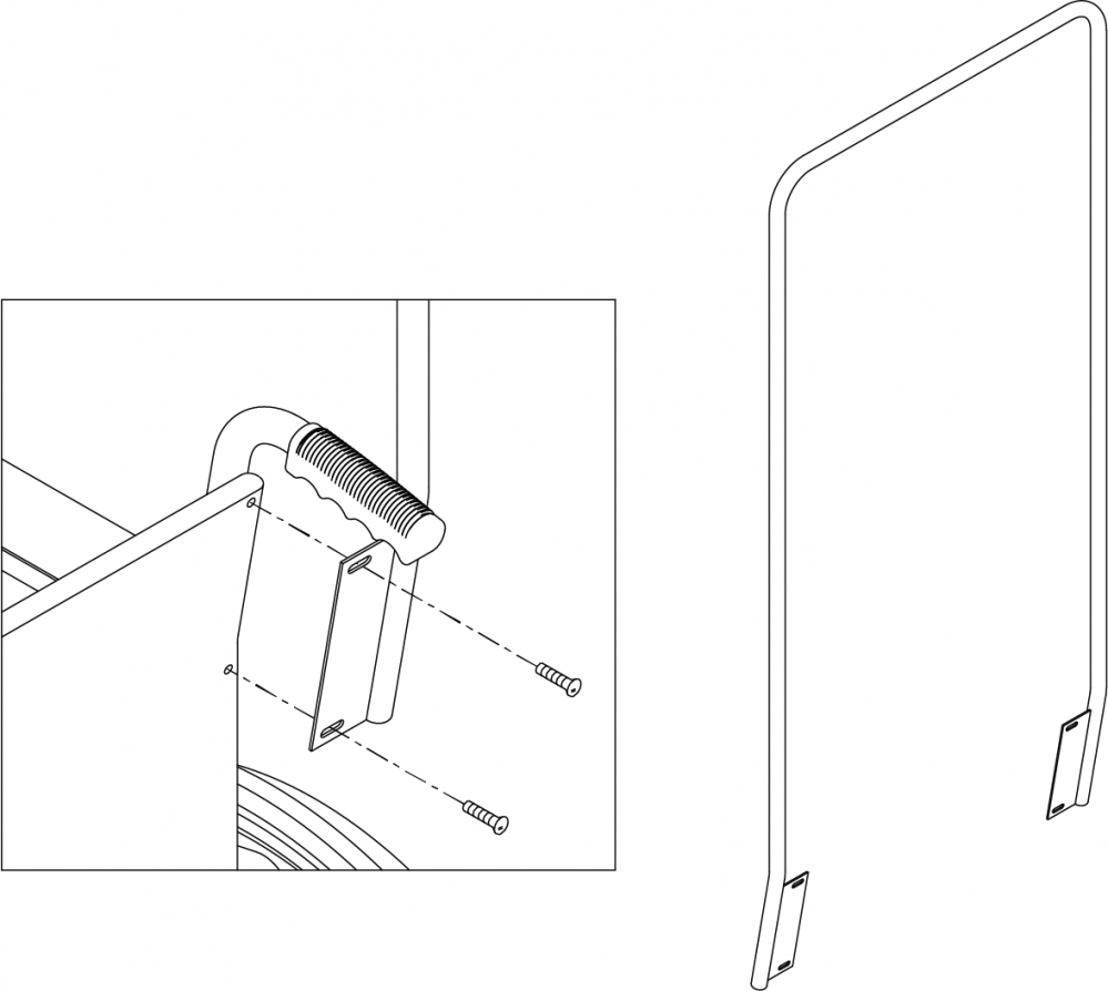 Overhead Anti-theft Device parts diagram