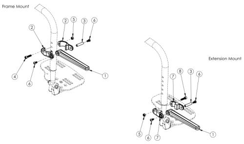 Catalyst / Focus / Flip Luggage Carrier parts diagram