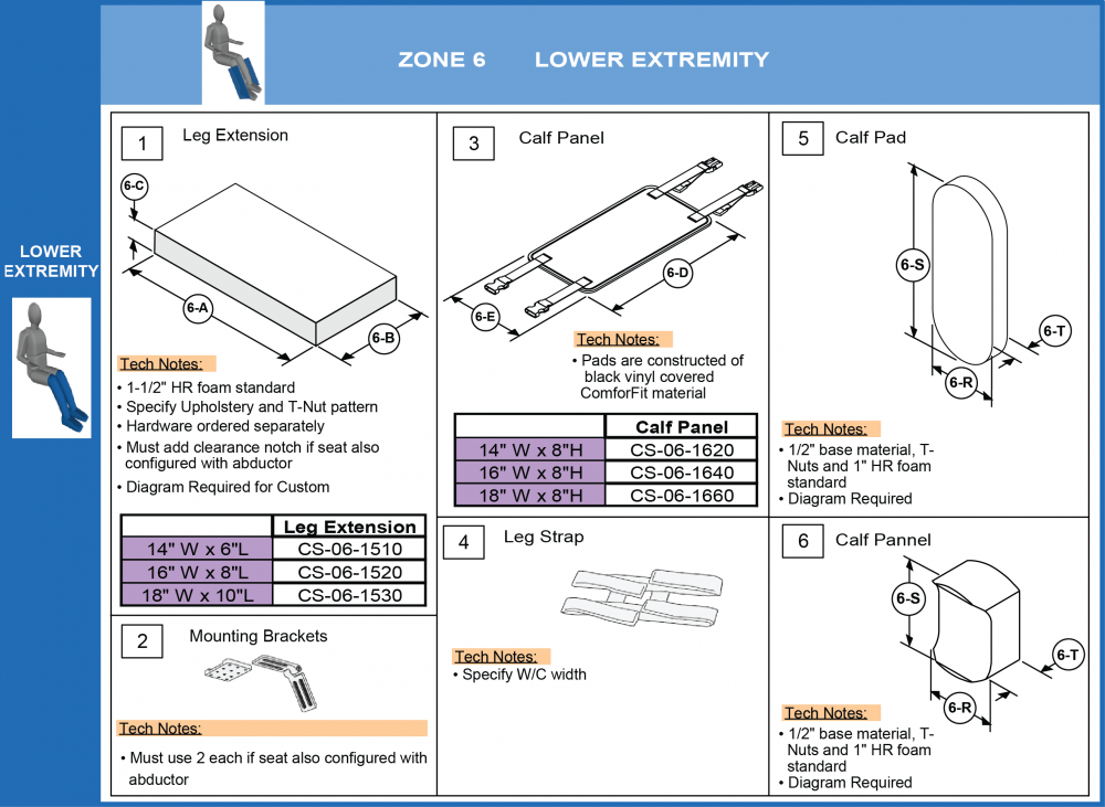 Additional Leg Supports (1 Of 2) parts diagram