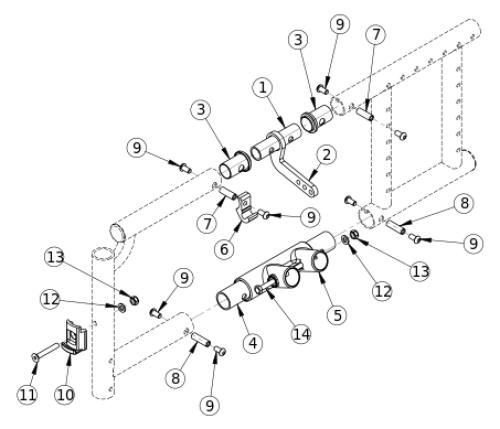 Spark Side Frame Assembly parts diagram