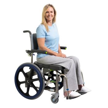 RAZ Zum SP Folding Mobile Shower Commode Chair
