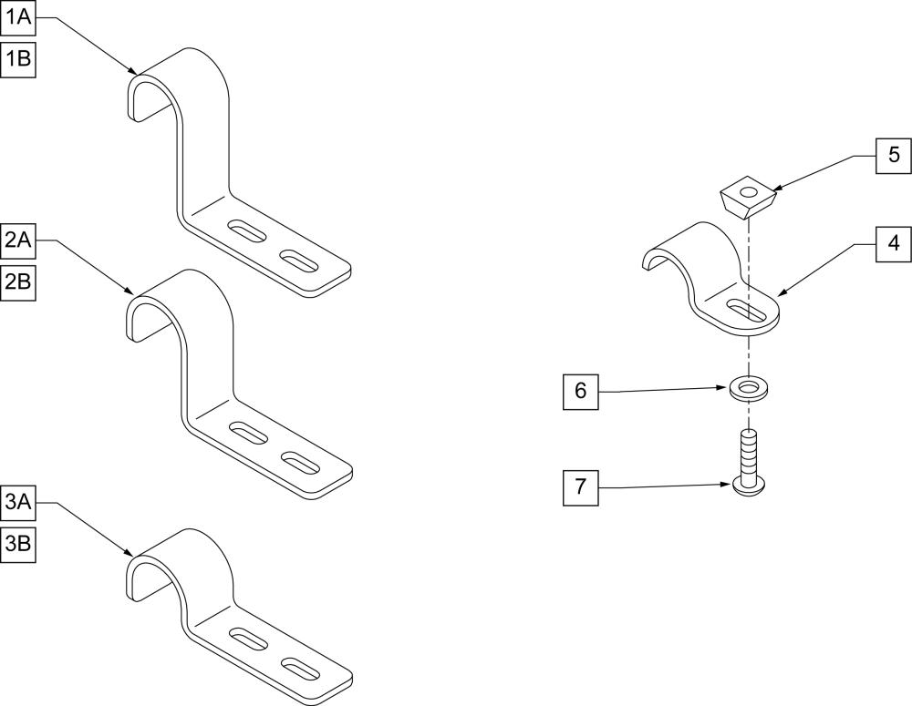 Drop Hooks parts diagram