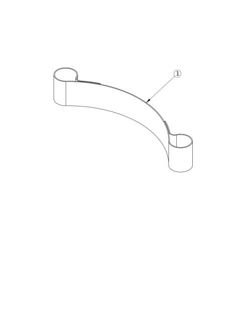 Hook And Loop Adjustable Calf Strap parts diagram