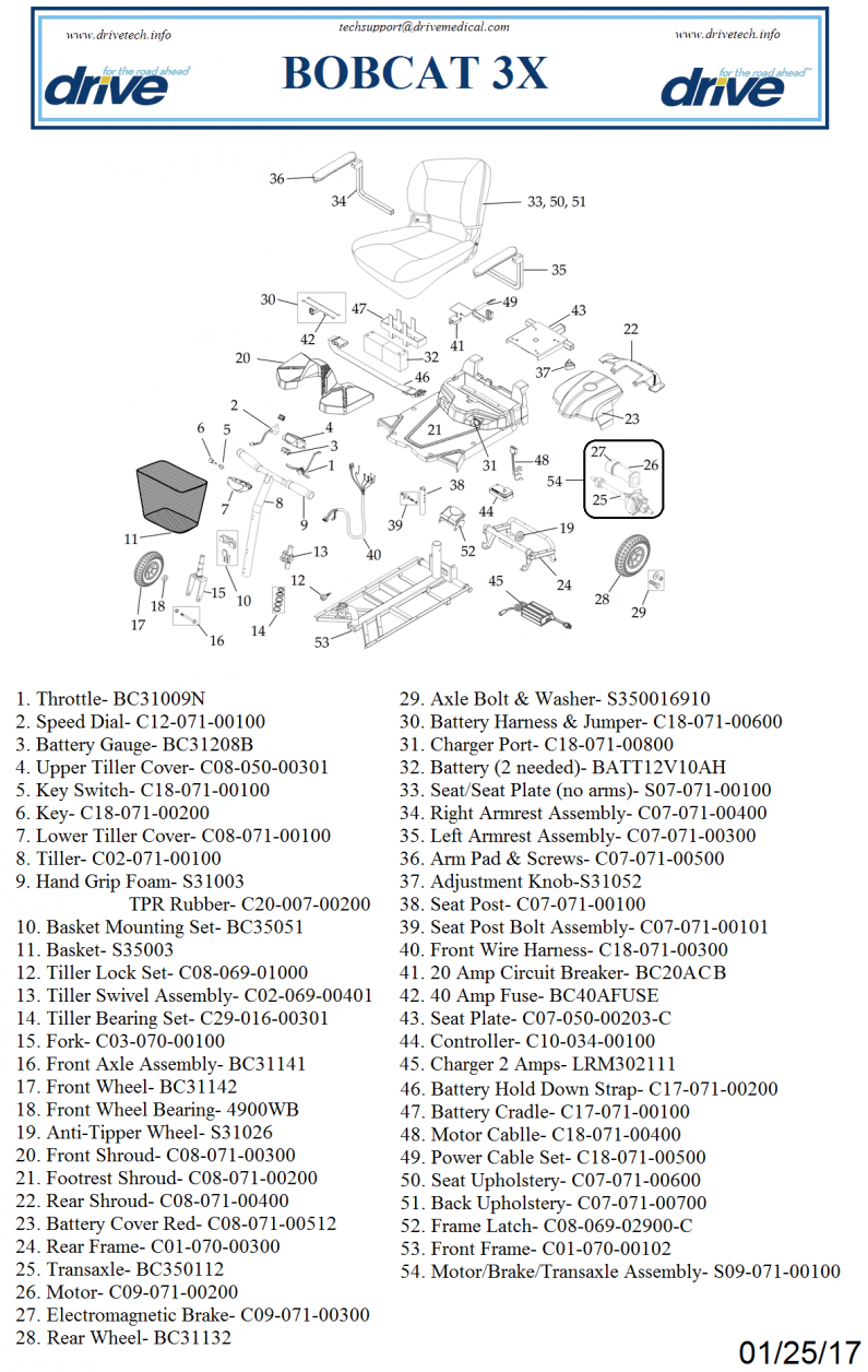 Parts For Bobcatx3 parts diagram