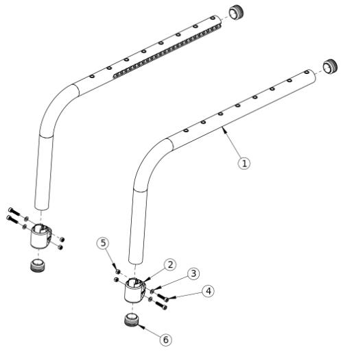 Discontinued Clik Side Frame parts diagram