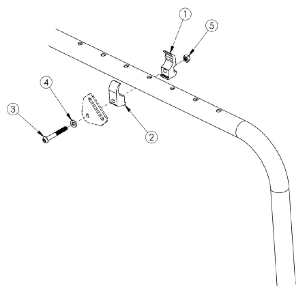 Clik / Ethos Positioning Belt Clamp parts diagram