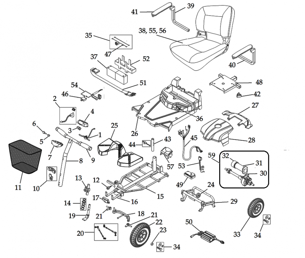 Parts For Bobcat X4 parts diagram
