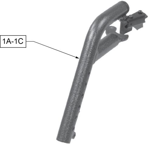 Swing-away Hanger parts diagram