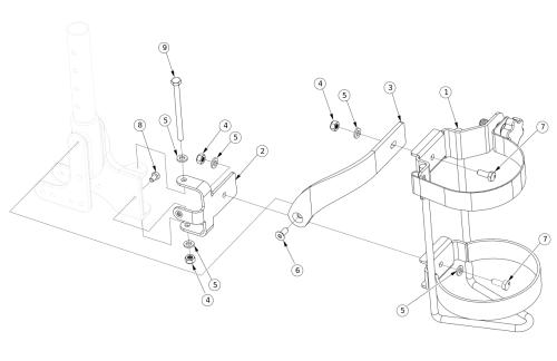 Liberty Ft O2 Holder parts diagram